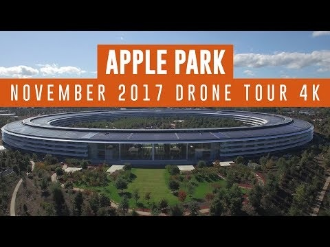 Nearly Completed Apple Park Campus Shown Off in New Drone Video