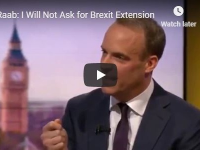 Raab: I Will Not Ask for Brexit Extension