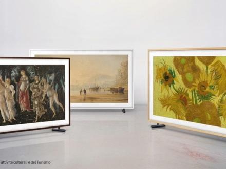 Samsung Frame TV gets some new artwork