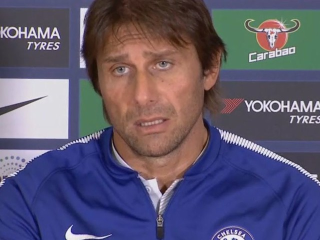 Conte gives injury update ahead of Stoke City match, thanks Diego Costa for his services