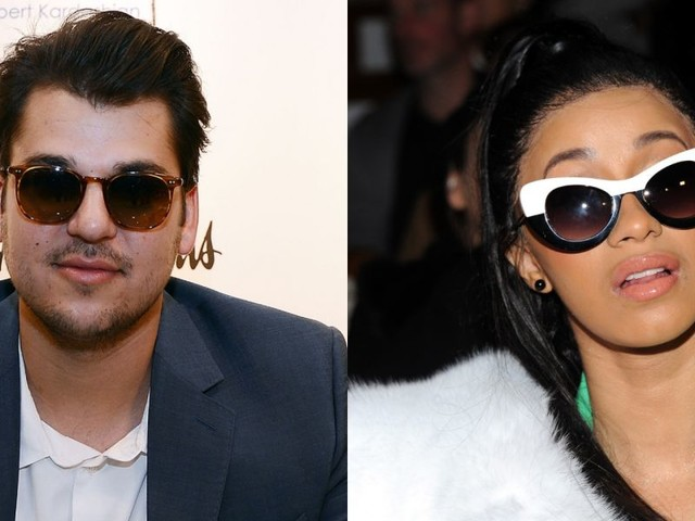 Rob Kardashian Got Message From Cardi B And Is Cheesing