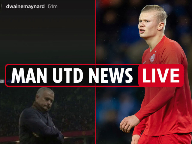 1.30pm Man Utd news LIVE: Haaland £17m release clause, Rashford brother in Mourinho dig, Eriksen open to £25m transfer