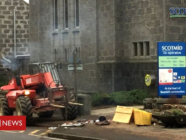 Third man charged over Scotmid break-in and ATM theft