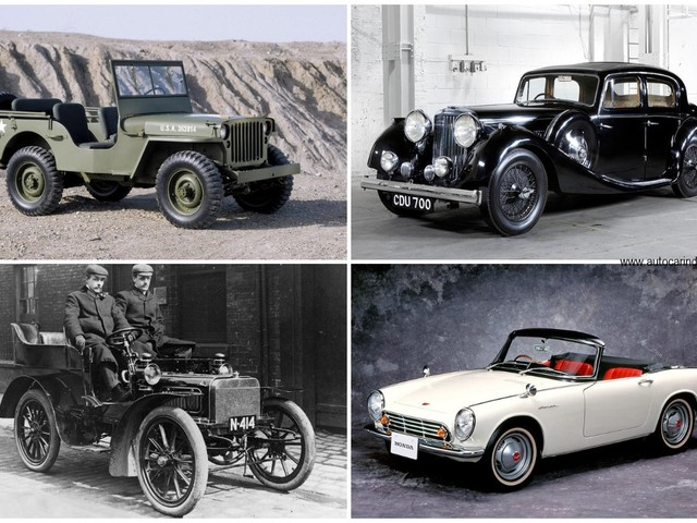 The first cars of the world's most famous carmakers
