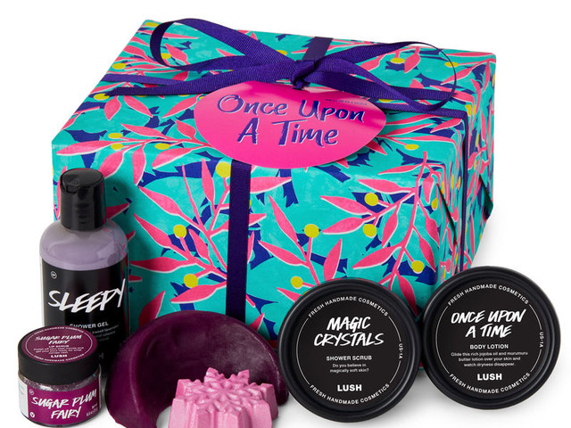 Fairytale-Inspired Gift Sets - Lush Cosmetics Unveiled the New Once Upon A Time Gift Set (TrendHunter.com)