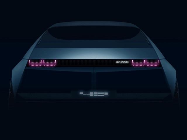 Hyundai 45 EV concept teased ahead of its Frankfurt debut