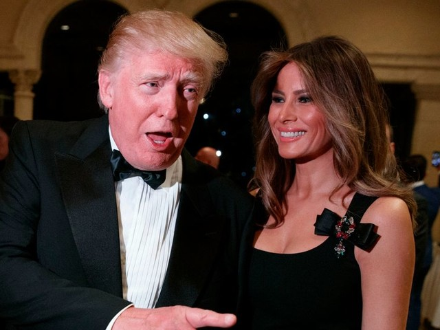 Donald and Melania Trump nominated for worst actor awards