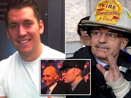 NYC firefighter who posted racist rants allegedly takes a poop in neighbor's yard