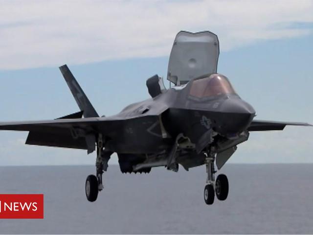 RAF Marham: F-35 fighter jet simulator unveiled