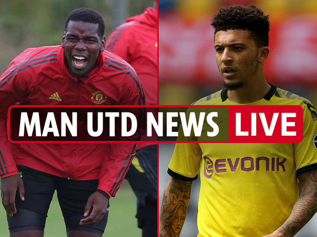 10pm Man Utd transfer news LIVE: Jadon Sancho LATEST, Sevilla in Europa semi, Pogba new hint, Coman loan updates