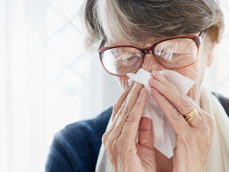 Study finds unique form of chronic sinusitis in older patients