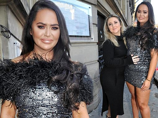 Ex on The Beach star Chanelle McCleary steps out for the first time since announcing her pregnancy