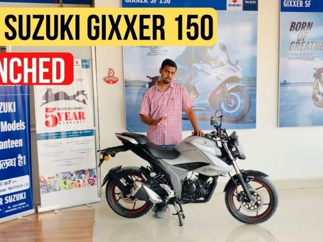 2019 Suzuki Gixxer 150 Launched; Detailed Walkaround Video