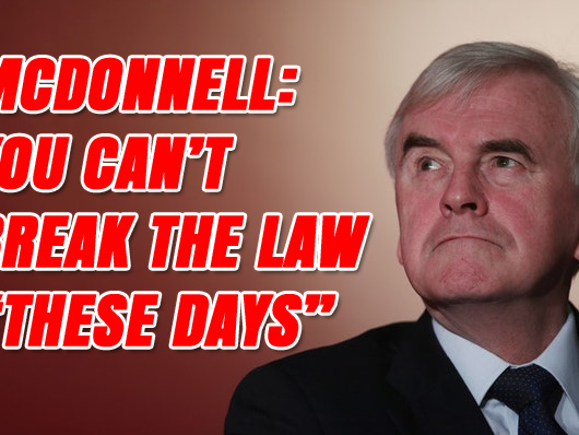 "McDonnell: You Can't Break the Law ""These Days"""