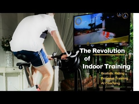 Virtual Cycling Races - VirchyBike Lite is a Stationary Bike That Simulates Long-Distance Races (TrendHunter.com)