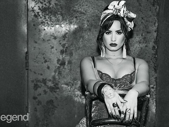 Demi Lovato Poses For '#Legend,' Talks 'Tell Me You Love Me'