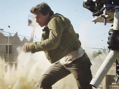 Tom Cruise breaks ankle in stunt, halts production on 'Mission' film