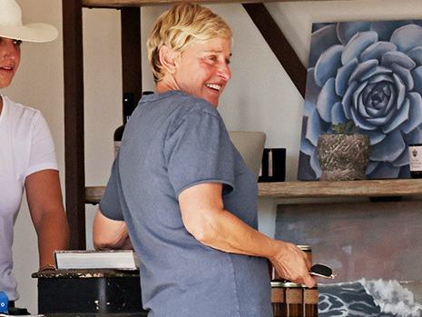 Ellen DeGeneres Goes Furniture Shopping In Rare Public Outing Ahead Of Her Talk Show's Final Season