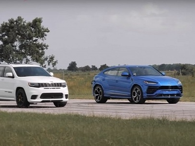 Hennessey Drag Races Jeep Trackhawk and Lamborghini Urus, Are New Mods in Tow?