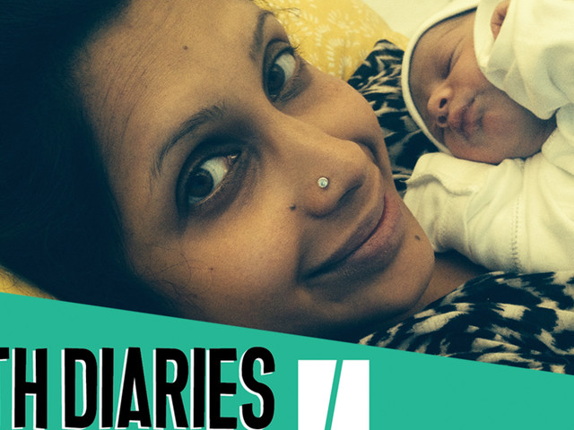 Birth Diaries: 'I Spent Our First Wedding Anniversary In Labour. But The Birth? I Remember Nothing'