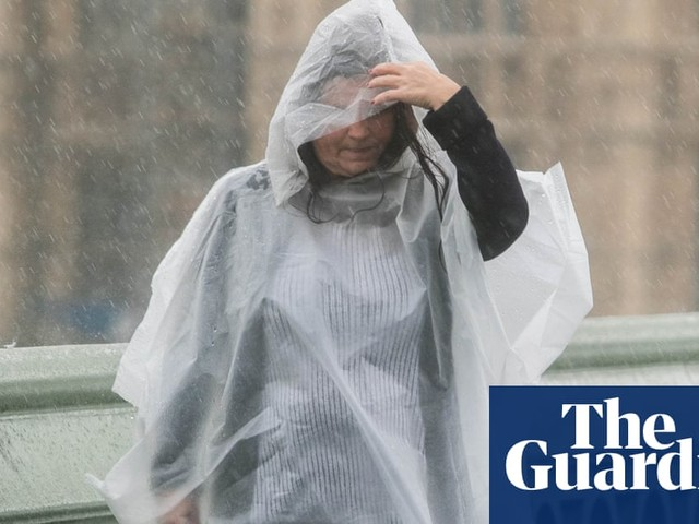 UK weather: Met Office issues threat-to-life warning after heavy rainfall