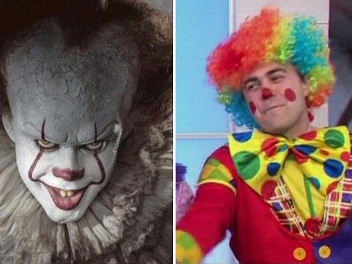 Clowns claim kids run away scared because of 'IT' movie