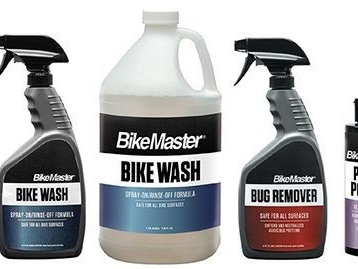 Motorcycle-Specific Cleaners - BikeMaster's Cleaning Supplies are Designed to Keep Two-Wheelers Safe (TrendHunter.com)