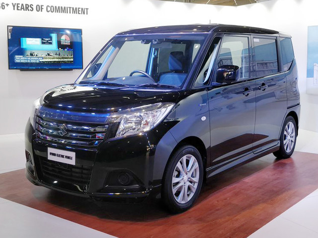 Suzuki Solio showcased at Future Mobility Show 2019