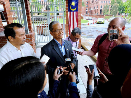 PPBM secretary-general gives statement to ROS