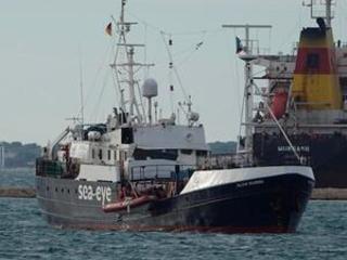 Italian ship with 151 rescued migrants docks in Sicily