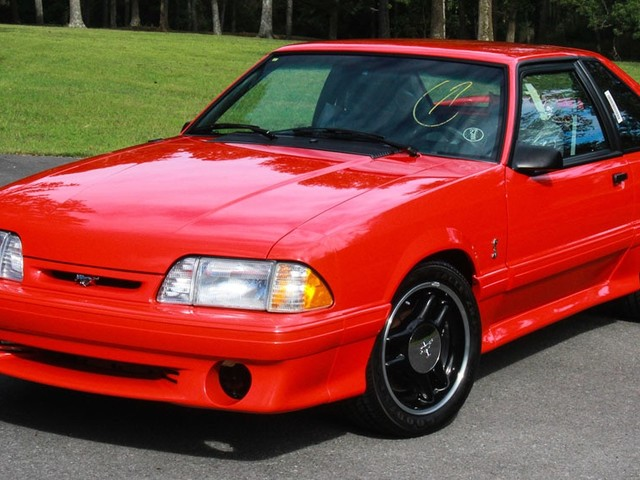 1993 Ford Mustang Cobra R Sells for a Record $132K at Barrett-Jackson