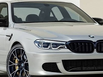 2020 BMW M5 Face Swap for E39 M5 Looks Distorted, Grilles Are Too Big