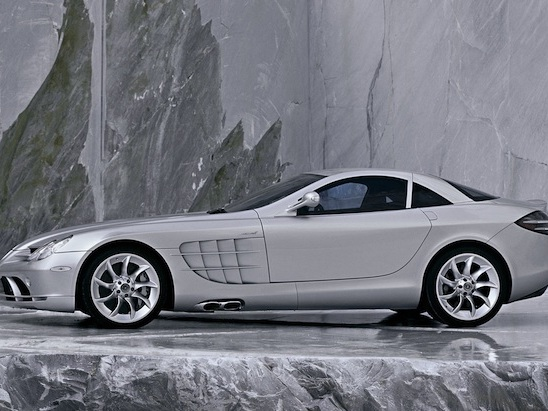 Mercedes-Benz Isn't Letting Go of the Rights to the SLR Badge