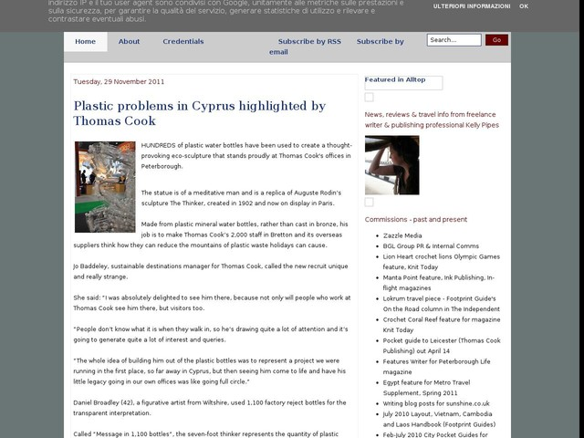 Plastic problems in Cyprus highlighted by Thomas Cook