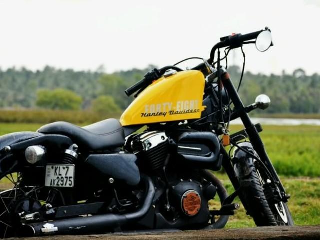 Yamaha Enticer 125 Transformed Into A Harley-Davidson Lookalike