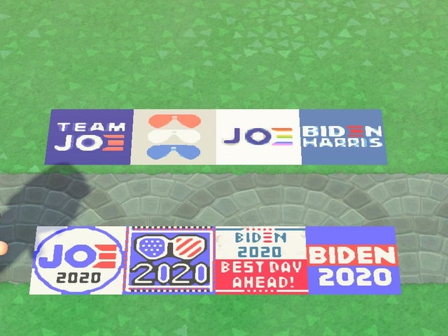 Inside Joe Biden's strategy to energize supporters who play Nintendo's Animal Crossing, where lawn signs, t-shirts, and virtual voting booths are the hot commodities
