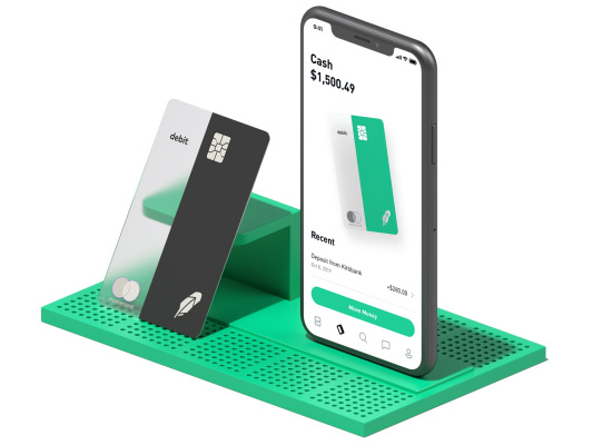Robinhood revives checking with new debit card & 2% interest