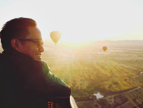 Pic of the Week: Ballooning in Bagan, Myanmar