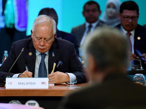 Najib attends Asean-Australia Summit Leaders' Plenary