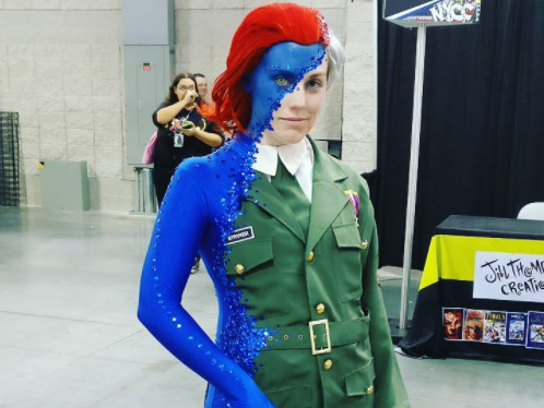 This is one the best costumes we've ever seen at New York Comic Con