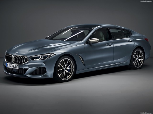BMW 8 Series Gran Coupe revealed