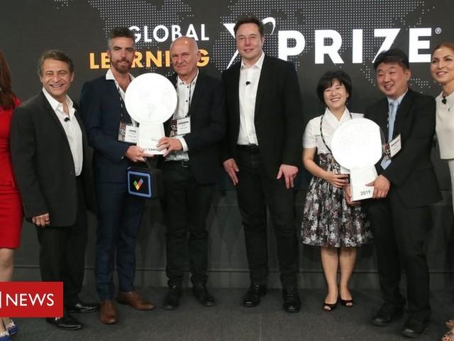 Global education X-Prize awards $10m