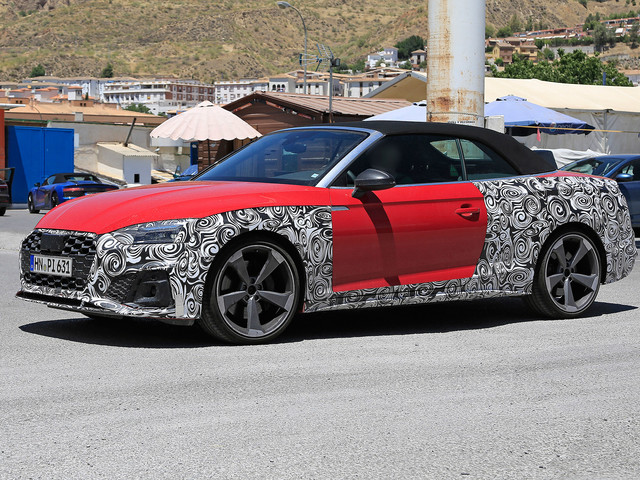 2020 Audi S5 facelift spied before reveal alongside rest of A5 range