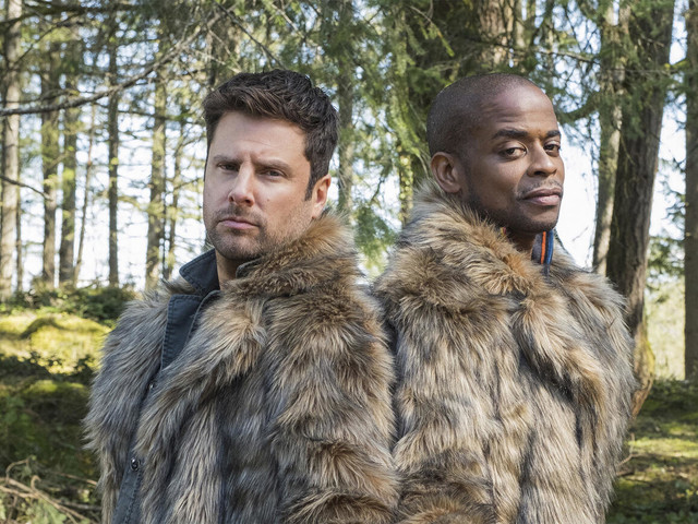 Watch James Roday Rodriguez Make Everyone Break in the Psych 2: Lassie Come Home Bloopers