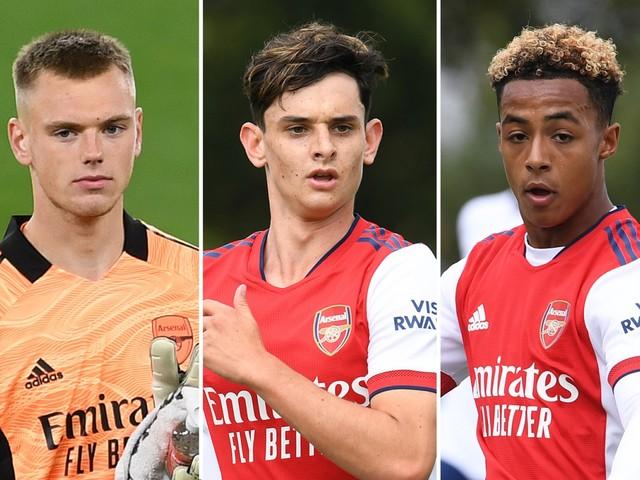 Five Arsenal starlets to watch including viral sensation Omari Hutchinson, Barcelona target Charlie Patino and Karl Hein