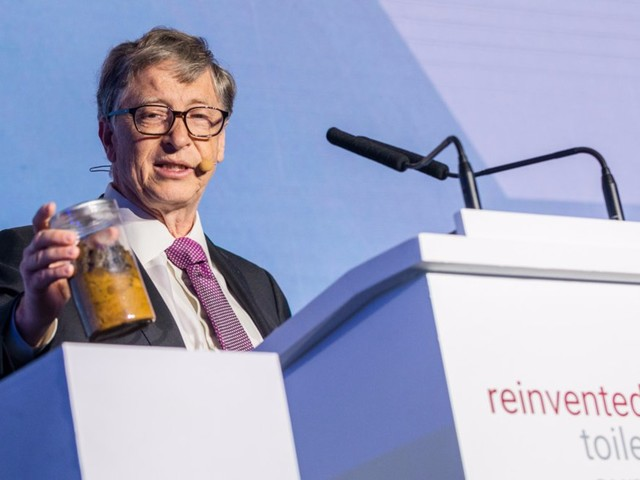 A $350 toilet powered by worms may be the ingenious future of sanitation that Bill Gates has been dreaming about
