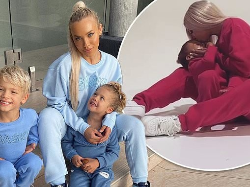Tammy Hembrow launches a children's clothing range