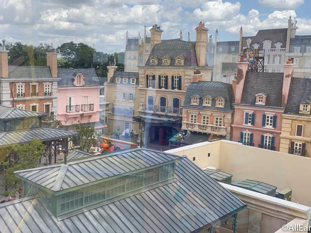PHOTOS: We've FINALLY Got a First Look at the Attraction Marquee for Remy's Ratatouille Adventure in Disney World!