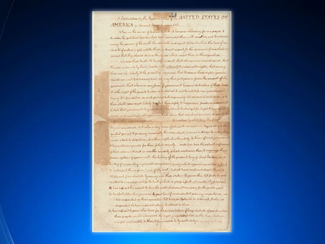 NY Public Library Set To Display Rare Copy Of Declaration Of Independence
