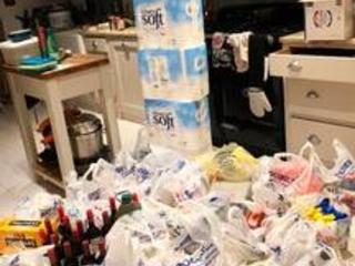 Juliet East brands husband 'mad' after £650 Tesco shop for Brexit no-deal